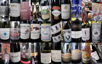 2011 Chi Gourmet wine collage